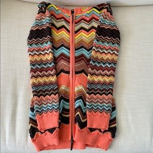 Never worn - Missoni for target cardigan